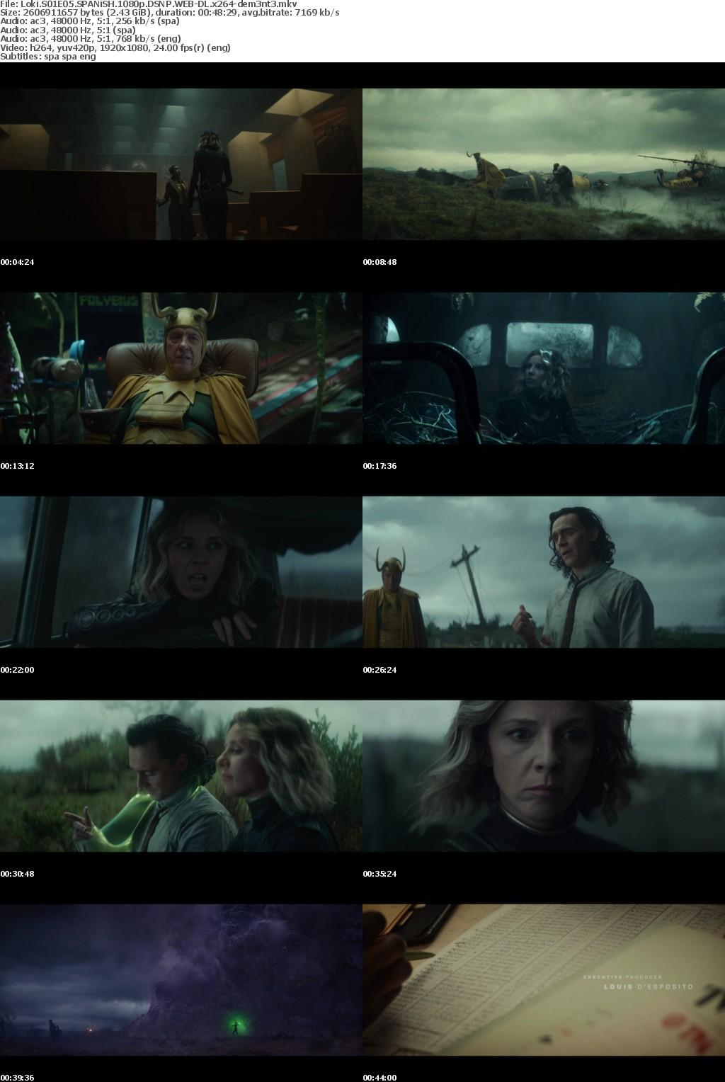 Loki S01E05 SPANiSH 1080p DSNP WEB-DL x264-dem3nt3
