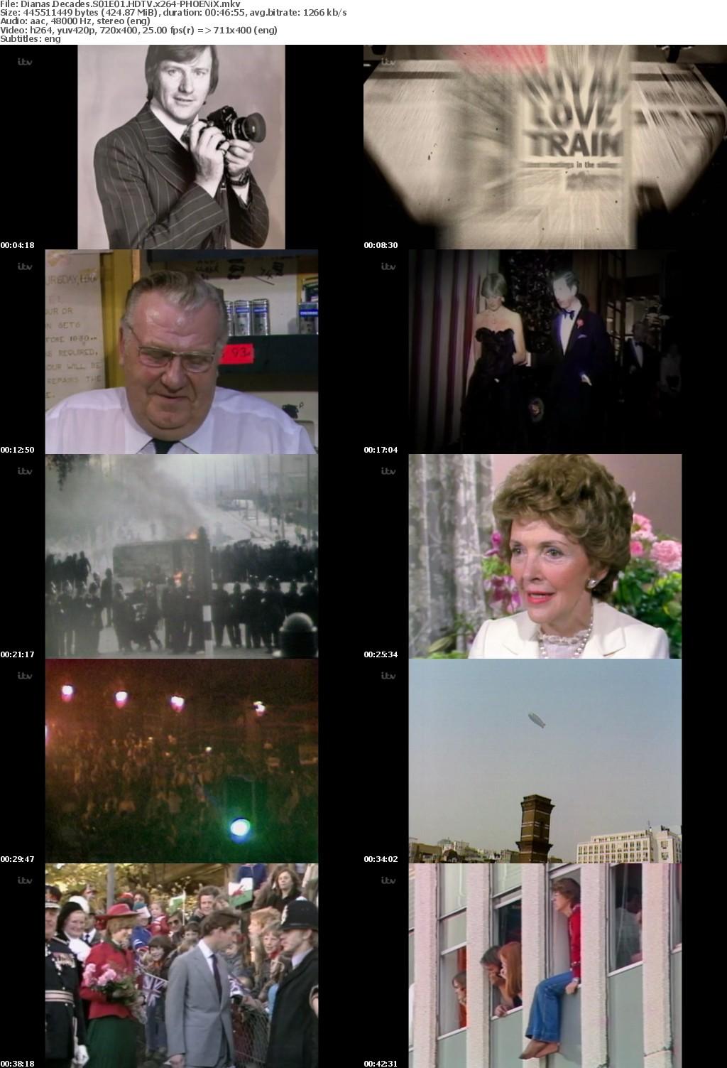 Dianas Decades S01E01 HDTV x264-PHOENiX