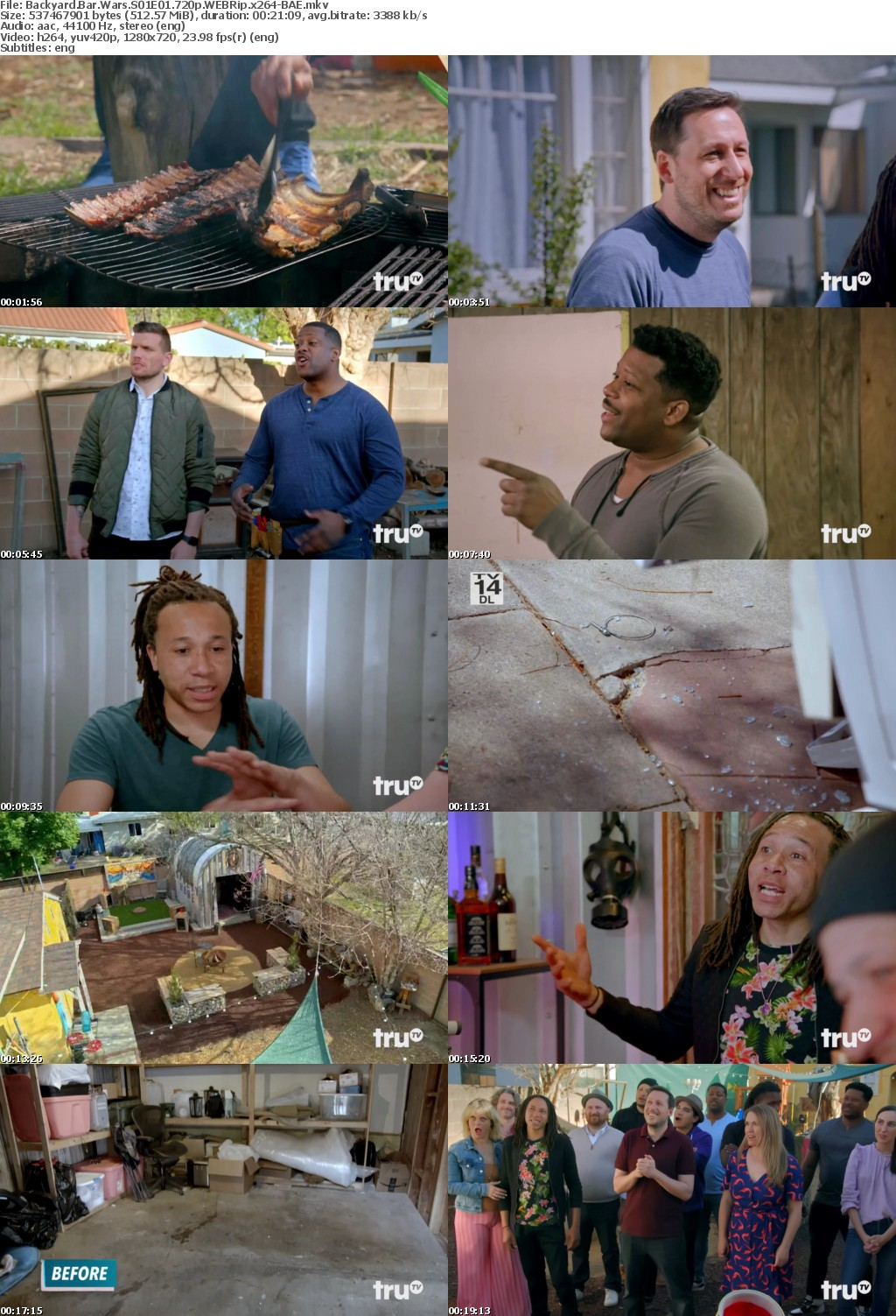 Backyard Bar Wars S01E01 720p WEBRip x264-BAE