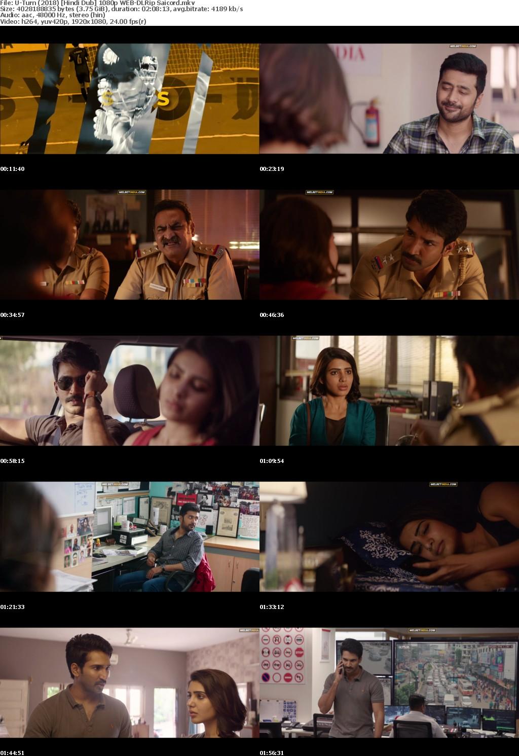 U-Turn (2018) Hindi Dub 1080p WEB-DLRip Saicord