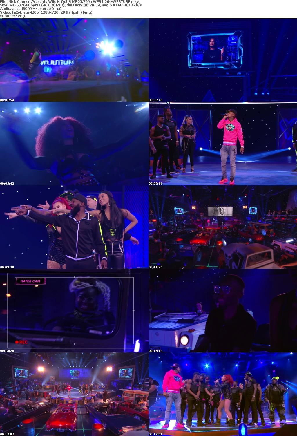 Nick Cannon Presents Wild N Out S16E20 720p WEB h264-WEBTUBE