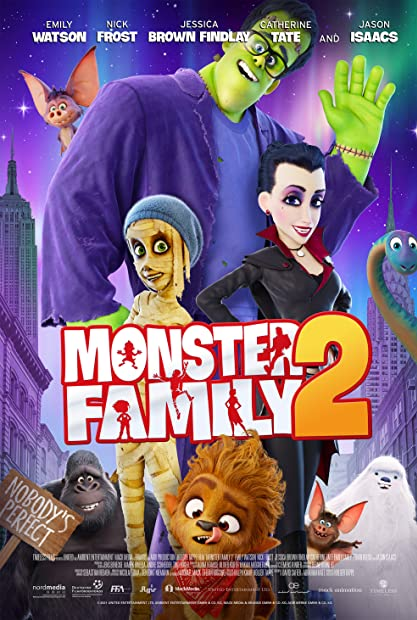 Monster Family 2 2021 720p HDCAM-C1NEM4